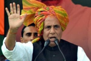 Pak must hold referendum to see if citizens want to be part of India: Rajnath