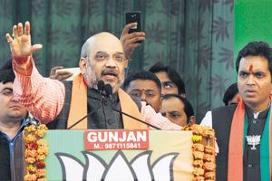 UP Polls: Shah invokes cow slaughter narrative in Noida rally