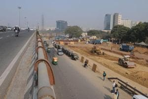 Traffic at Iffco chowk could be a nightmare
