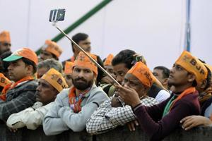 UP Polls: Shah woos young voters with laptops and jobs