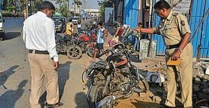 Mumbai cop killed, wife injured after dumper knocks down their motorcycle