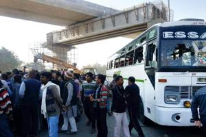 Greater Noida resident dies on being mowed down by a bus