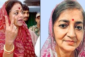 Queen of all fights in Amethi as two royals face-off for Congress, BJP