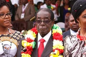 $2.5 million set for Zimbabwe President Robert Mugabe's 93rd birthday...