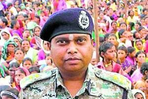 Bastar's inspector general SRP Kalluri  was posted back to Chhattisgarh police headquarters on Feb 7, 2017.