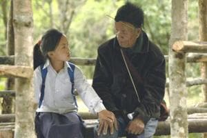 A still from the film, Aaba.