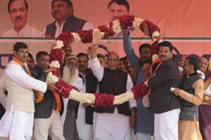 Pakistan turning out to be a vote-catcher for Rajnath Singh in UP