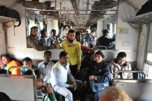 On a train journey from Lucknow to Kanpur, discussion on Uttar Pradesh election dominated the conversation.