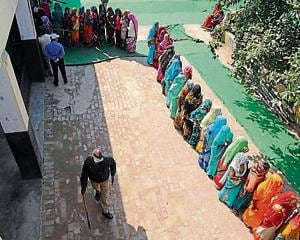 UP polls: In Bisada, only 18 Muslims cast their votes