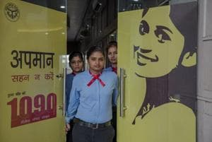 1090, or 'dus nabbe' as it's known in Uttar Pradesh, is a helpline for women  who want to report harassment, stalking or phone-related abuse.