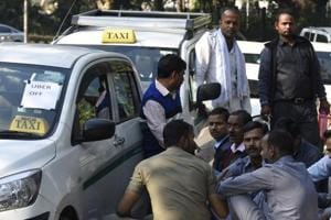 On Day 3 of Ola-Uber strike: Protesting drivers stop colleagues from completing trips, taking duties