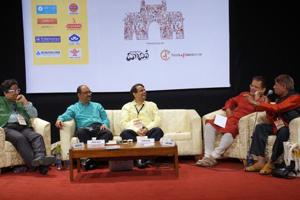 A panel discussion during last year's Gateway LitFest.
