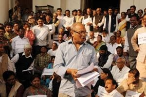 Bengal MLA lodges complaint of molestation during Feb 8 ruckus in assembly, opposition walks out of the House