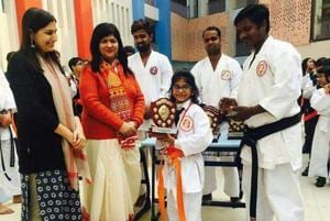 DPS student death:Parents of karate kid Ghazal Yadav go to child rights commission