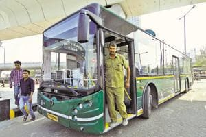 With 12 more buses, Noida metro corp completes phase-1 of bus service