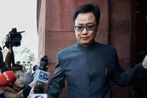 Minister of State for Home Kiren Rijiju. Religious affiliations have little to do with the size of the family and favourable social indices equally contribute to slower population growth