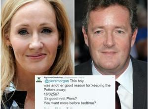 Messing with JK Rowling is not all that easy or pleasant. Only if Piers Morgan knew.