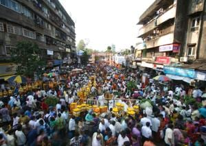 Marathi-speaking population comprises 60% of the population in Dadar and Mahim, which falls under the G-north ward.