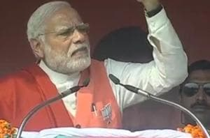 While addressing a rally in Hardoi, Prime Minister Narendra Modi said...