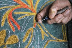 Namda - The traditional felted craft of Kashmir