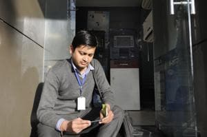 Noida ATMs dispense cash for two hours a day