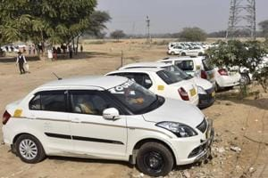 Gurgaon: Fear of vehicles being damaged keeps cab drivers within city limits