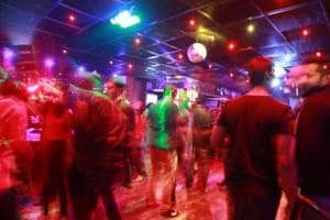 Several clubs in the city don't allow stag entries.
