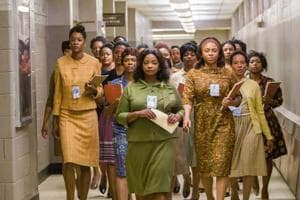Taraji P Henson, Octavia Spencer and Janelle Monae play the lead roles in Hidden figures.
