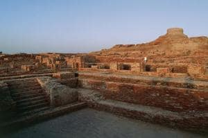 The Great Bath at Mohenjo-daro, Pakistan.