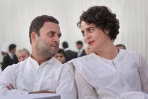 Priyanka Gandhi on Cong poll trail in UP for first time, will join Rahul in Rae Bareli