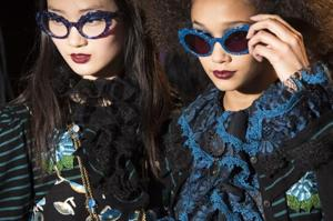 Looks from the Anna Sui fall 2017 show during New York Fashion Week. The more than a week long showcase gave off  lot of style inspiration for the next season.