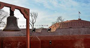 A view of the historical Gobindgarh Fort that was opened for public on December 12 last year in Amritsar.