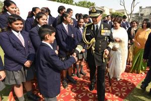 Naval chief pays homage to martyrs, calls Noida memorial an inspiration