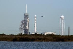 Launch of SpaceX Falcon rocket aborted seconds before liftoff