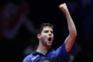 Seasoned Dimitrij Ovtcharov ends young Harimoto's dream run