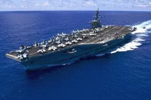 US aircraft carrier enters South China Sea, raising fears of new...