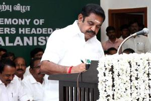 Trust vote won but Palaniswami govt  in Tamil Nadu faces trust deficit...