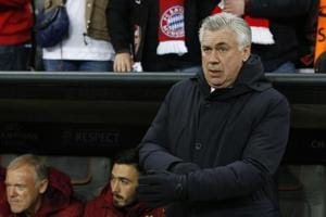 Bayern Munich coach Carlo Ancelotti in spotlight for gesture to Hertha...