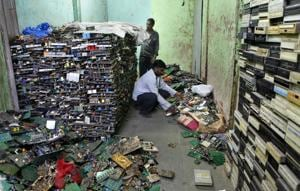 E-waste concentration in Indian soil is twice the global average,...