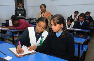 Board exams for 8 lakh students begin across 1385 centres in Jharkhand