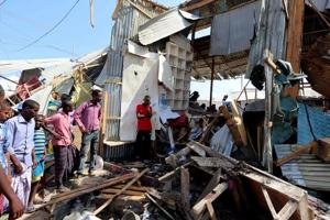 At least 39 killed, 50 wounded in car bomb blast in Somalia's capital...