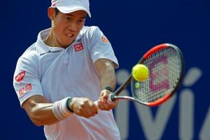 Kei Nishikori battles past Carlos Berlocq to reach Buenos Aires final