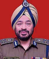 IGP Tajender Singh Luthra takes charge as first DGP of Chandigarh
