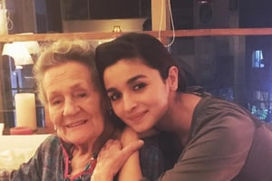 Alia Bhatt celebrated her grandmother's 88th birthday with a cute...