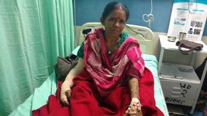Doctors at RML remove a 5 kg tumour a woman's arm