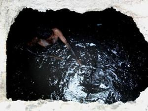 On Thursday three people died while cleaning a sewage tank in Malad, poisoned by toxic gases generated by rotting sewage.