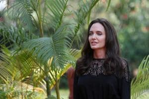 Angelina Jolie makes first public appearance post Brad Pitt split. See...