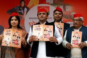 UP polls: Akhilesh flashes hard facts to counter Modi's claims of...