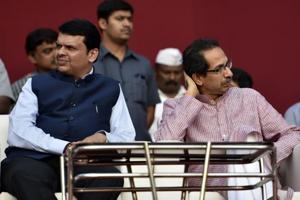 BJP-Shiv Sena tussle in Mumbai civic polls puts Fadnavis govt's future...