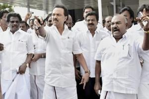 Tamil Nadu CM row: DMK moves HC, demands Palanisamy's trust vote null...